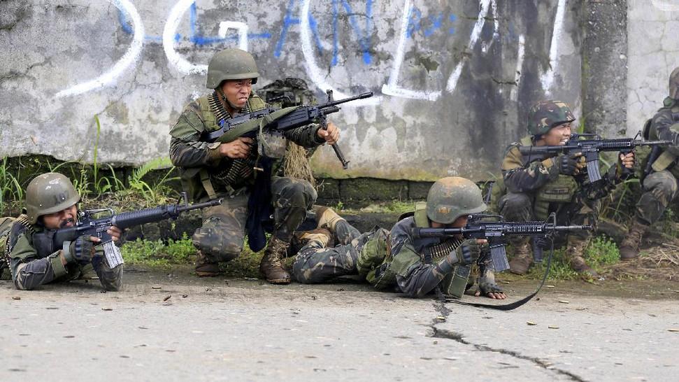 Hari Ke-empat Bentrokan, Marawi Kian Mencekam