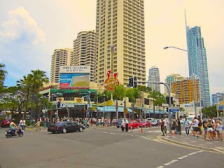 Surfers Paradise Blvd and Cavill Avenue Surfers Paradise Year 2012