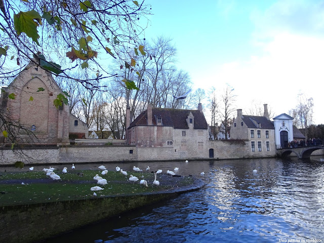 Lago Minnewater, Bruges