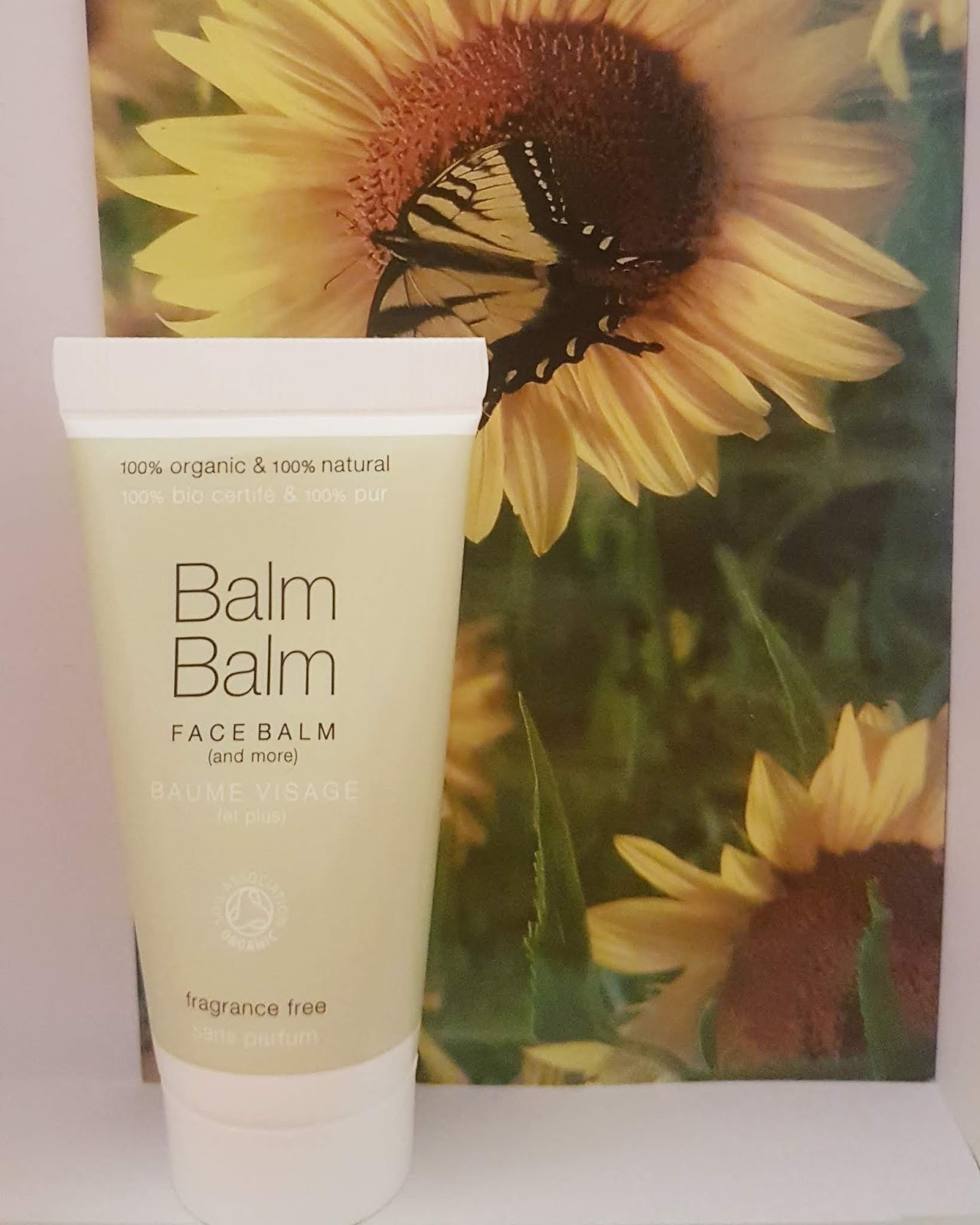 Balm Balm natural organic face balm tube