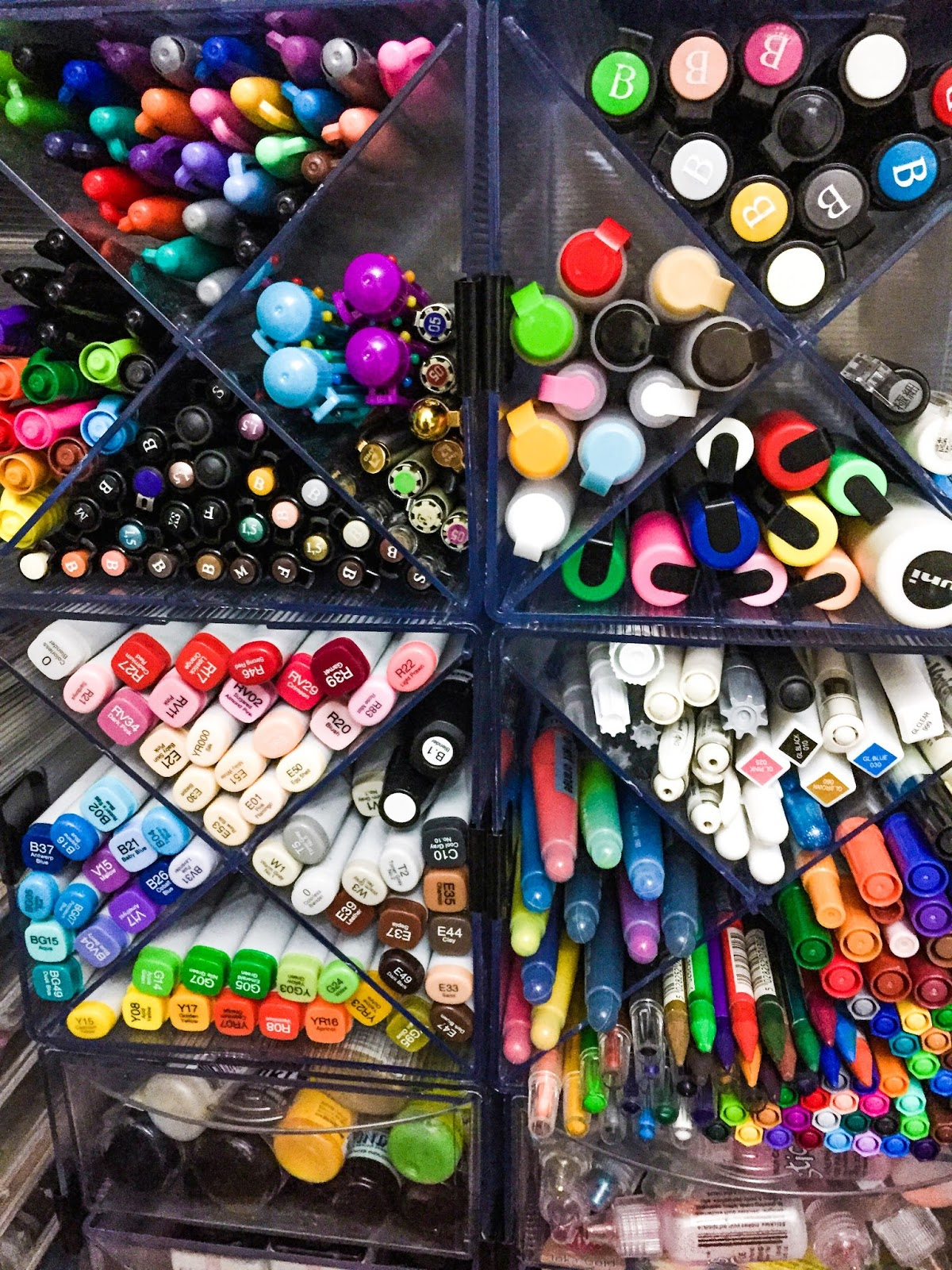 Storage Ideas: How I Store My Art Supplies