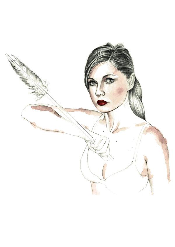 Crisbel Robles | Ilustración