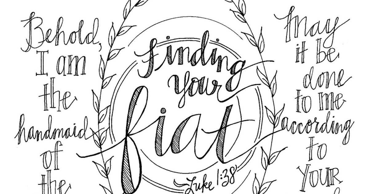 Look to Him and be Radiant: Lovely Coloring Pages