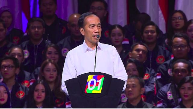 Acara Konvensi Rakyat Jokowi, TKN: Kalau Ada yang Angkat Dua Jari, Hajar!