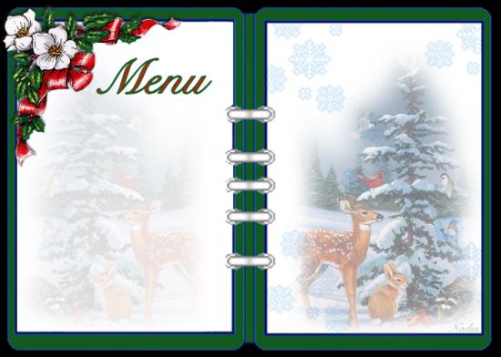 Iets Nieuws Kerstmenu's voor thuis met recepten en decoratie tips voor @WF09