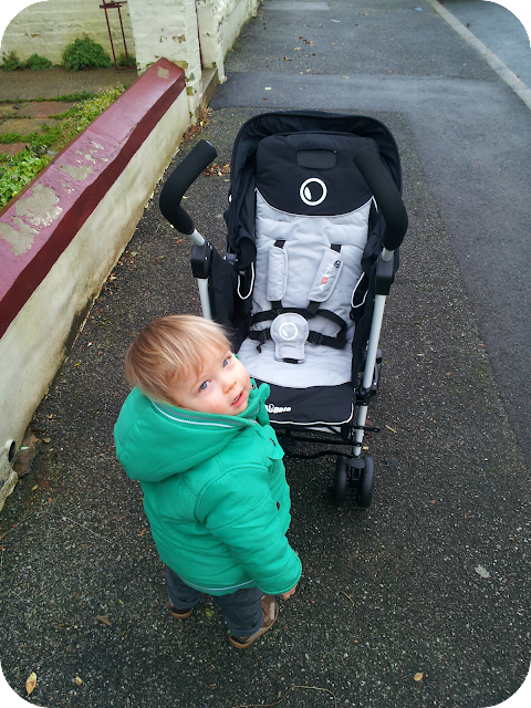 Dylan's pushchair, njoy bubble
