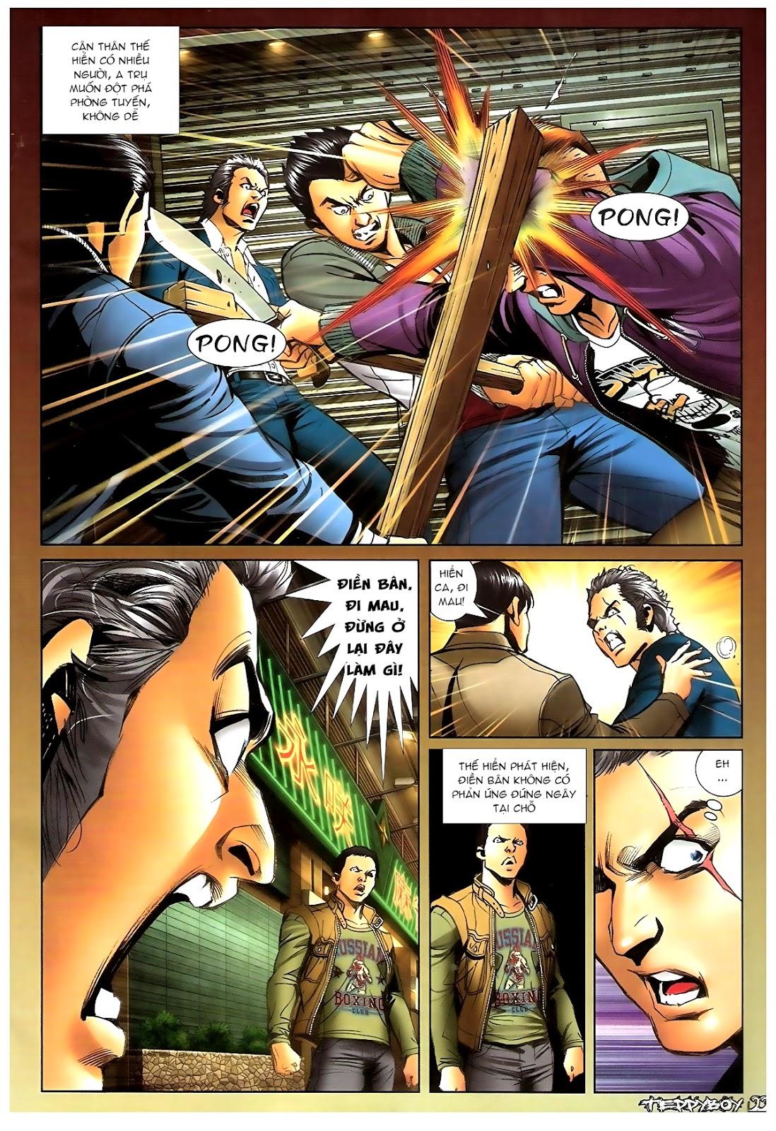 Người Trong Giang Hồ - Chapter 1381: Tự tìm diệt vong - Pic 18
