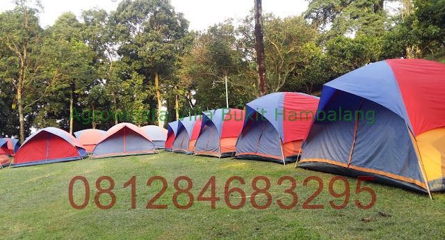 Paket Camp Ground di Wisata Villa Bukit Hambalang Hill