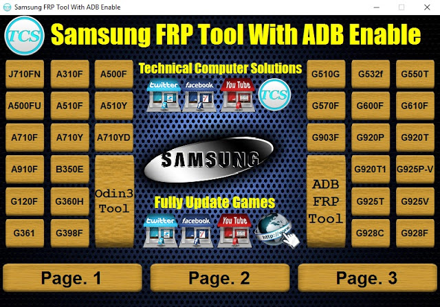 Samsung Frp Tool With ADB Enable Files Free Download ~ Asia