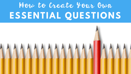 Teachers, this is a great post that teaches you how to write your own essay question for your students! Perfect for middle school and high school english teachers!