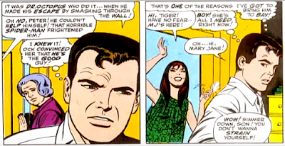 Amazing Spider-Man #55, john romita, at aunt may's house, mary jane watson shows up