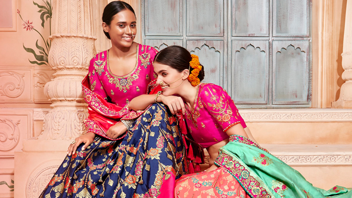 302c5c2b08 The Indian lehenga is not meant for only slim girls- every woman, including  plus-size ladies can don this beautiful piece of garment and step out  looking ...