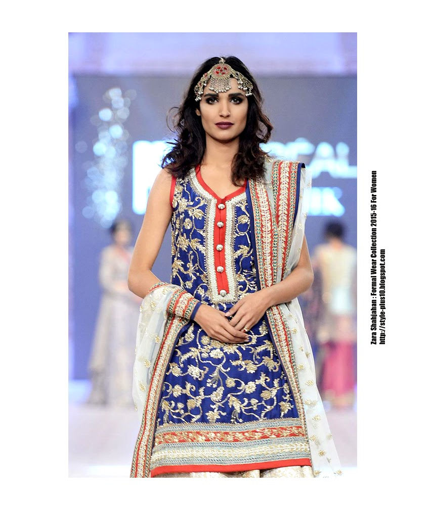 582ae3ae71 Zara Shahjahan : Formal Wear Collection 2015-16 For Women ~ Style-Plus10