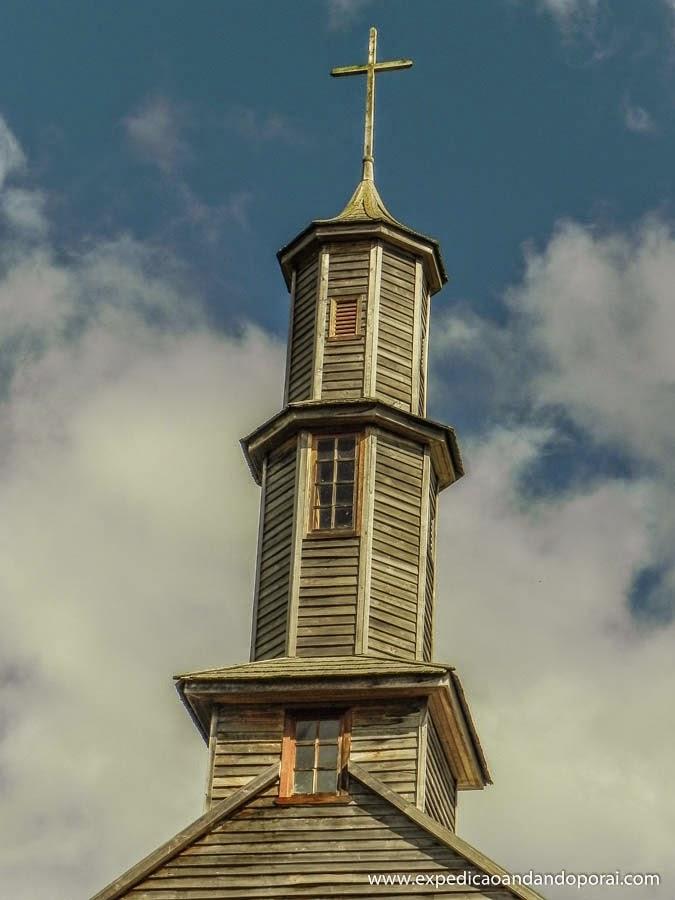 Igreja Vilupulli, Ilha de Chiloé