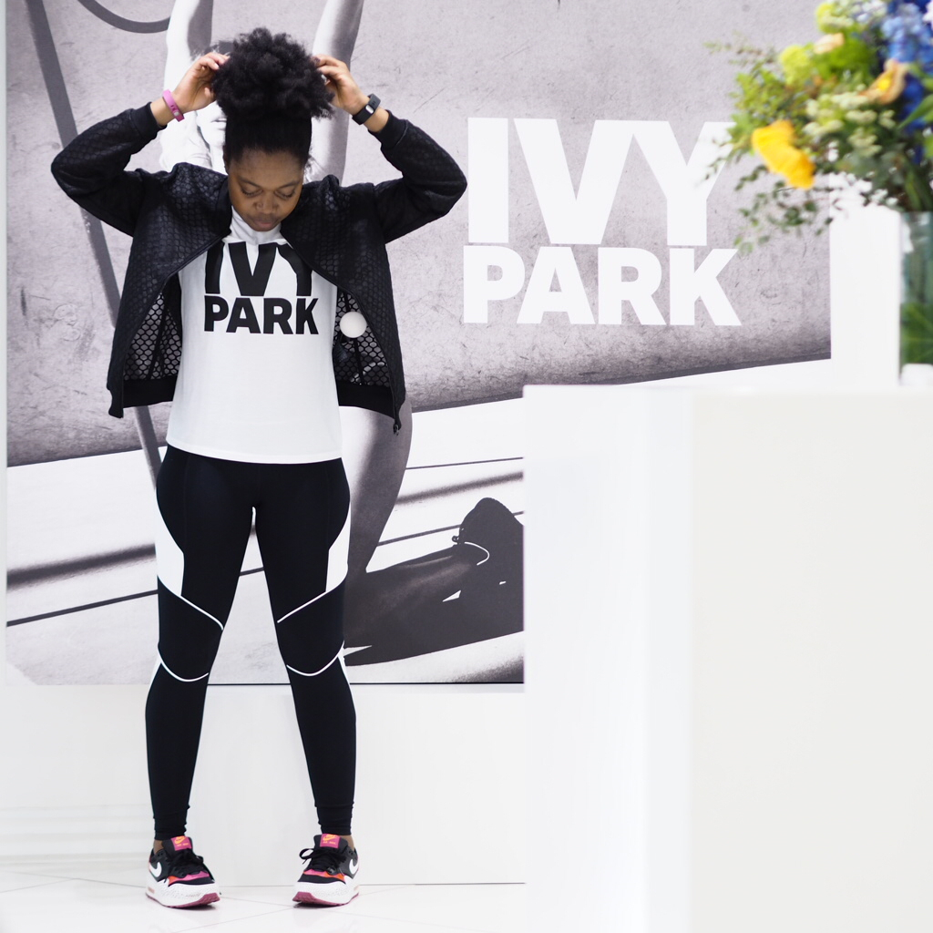 Ivy Park sizing and more information