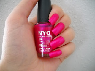 The Nail Goddess N Y C Midtown Pink Wednesday