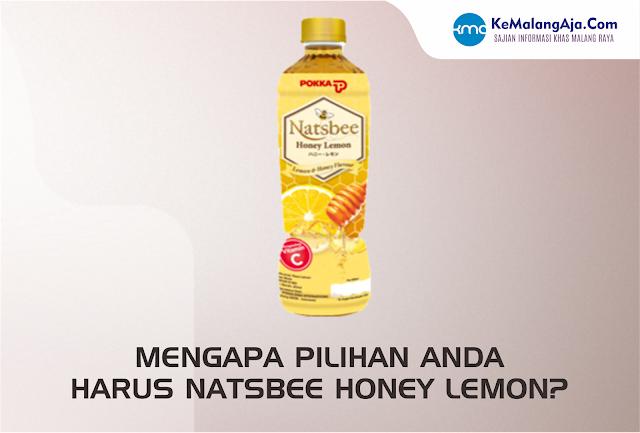 Mengapa Pilihan Anda Harus Natsbee Honey Lemon ?