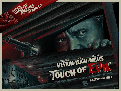 Touch of Evil Movie Poster Regular Red Edition Screen Print by Mike Saputo x Mad Duck Posters