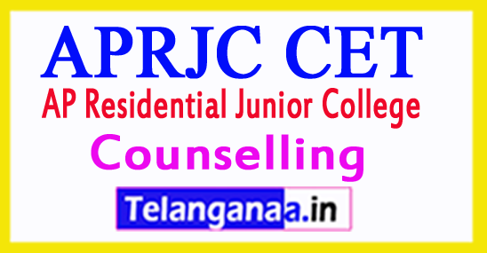 APRJC 3rd Counselling 2018