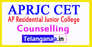 APRJC 3rd Counselling 2017