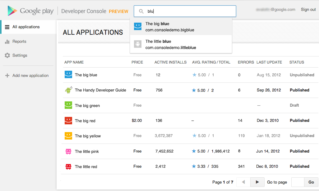Android Developers Blog: New Google Play Developer Console