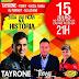 Tayrone, Tierry & Rasga Tanga se apresentam nesta sábado (15), em Castro Alves