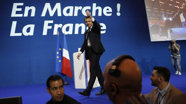 """Μπροστά με 23,54% ο Μακρόν: Η Λεπέν παίζει με τον """"μπαμπούλα"""" της παγκοσμιοποίησης"""