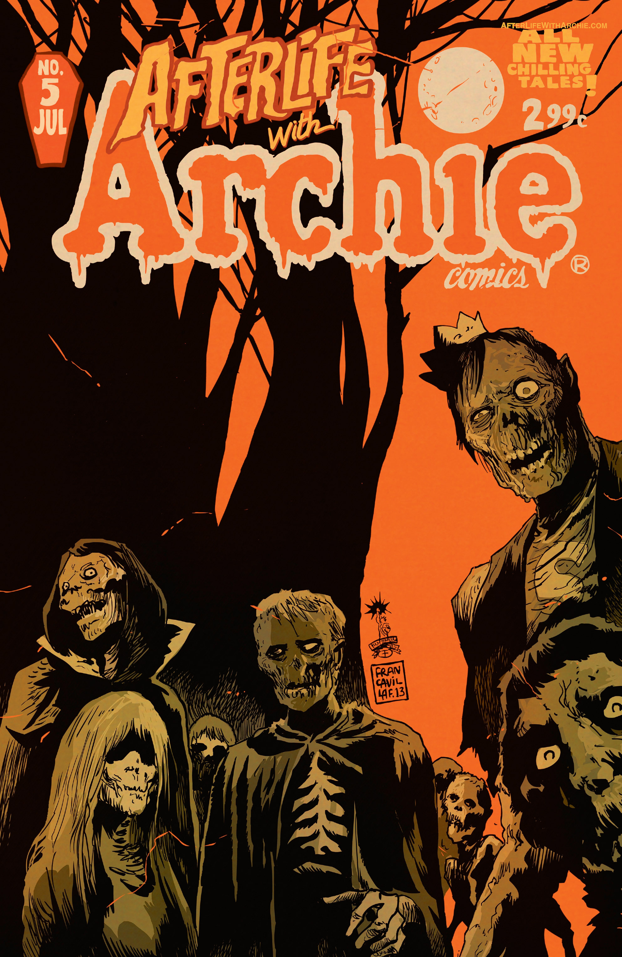 Afterlife with Archie 5 Page 1