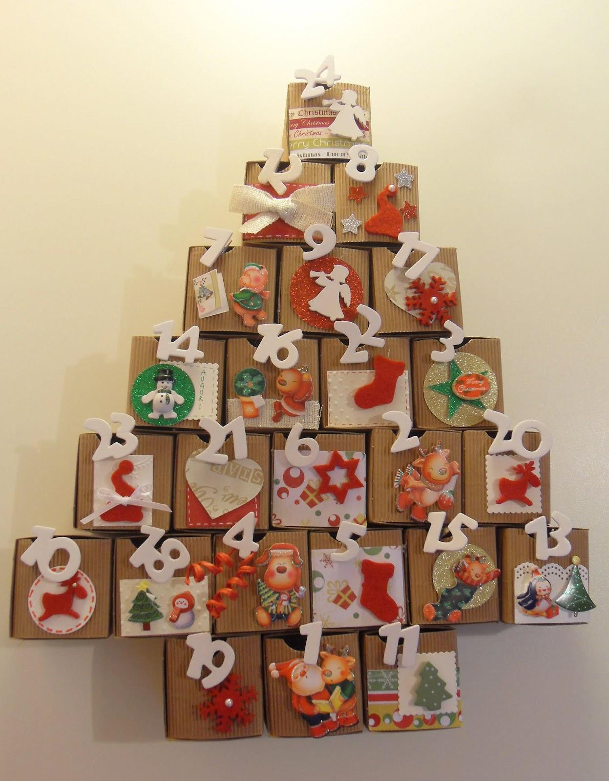 Lumaca Matta - Handmade with love: Calendario dell'avvento