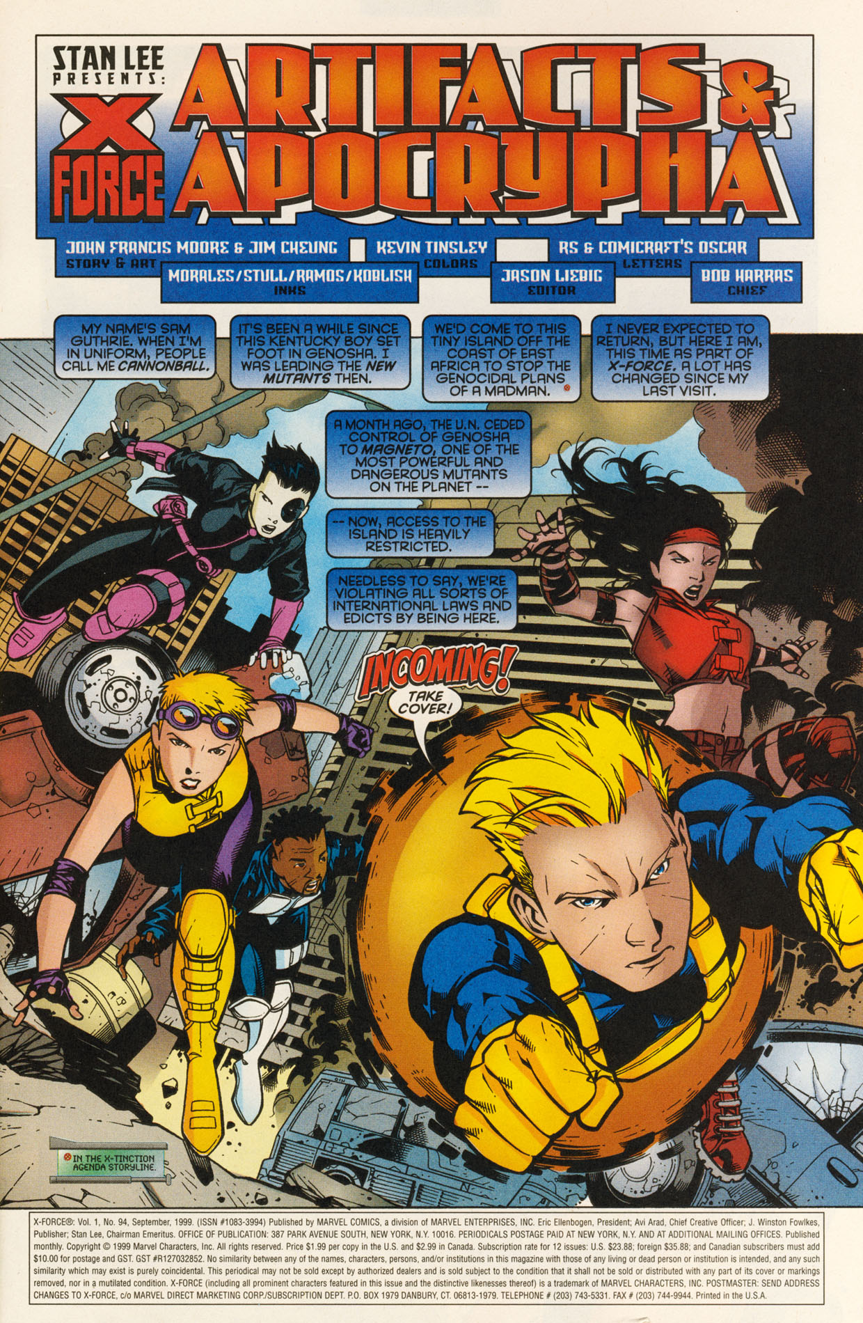 Read online X-Force (1991) comic -  Issue #94 - 3