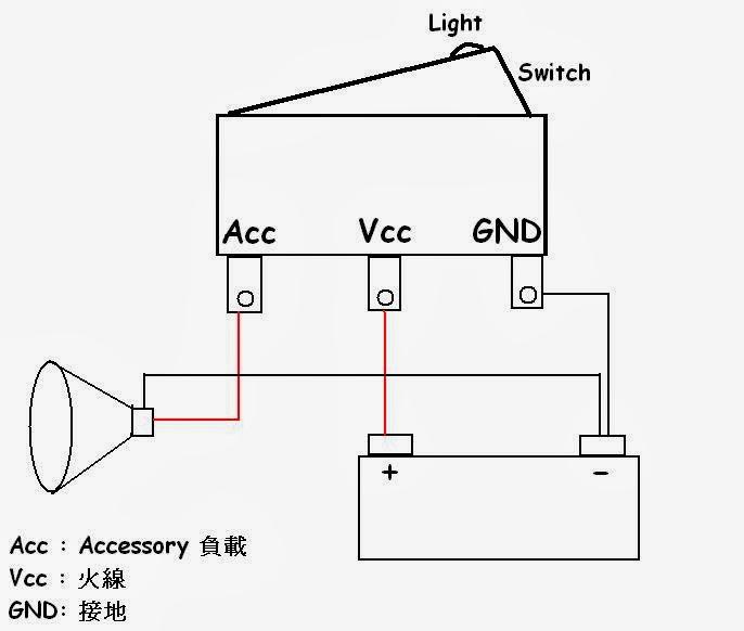 D.I.V.E in Technology: 3P Rocker Switch ( 3 Pin 洛克開關應用 )
