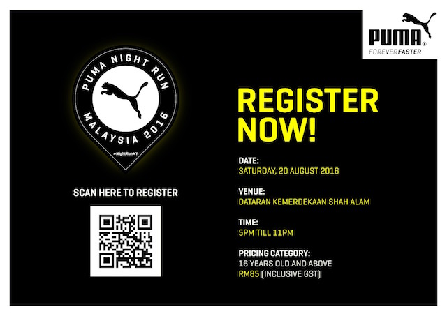 5 Reasons Why You Should Not Miss The Puma Night Run 2016 !