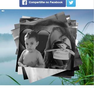 Como cria um álbum foto preto e branco faceboook