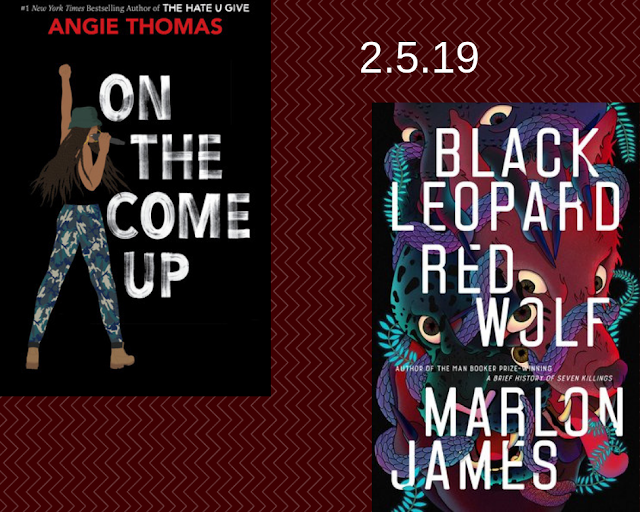 On the Come Up, Angie Thomas, Black Leopard Red Wolf, Marlon James