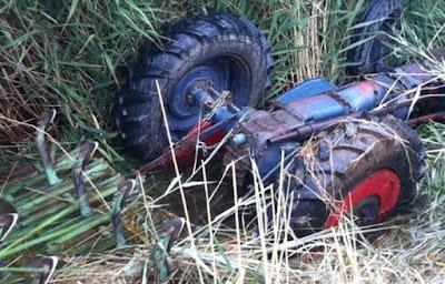 Σοκ!!! Σκοτώθηκε γνωστός κλαρινίστας – Τον πλάκωσε το τρακτέρ καθώς έκανε εργασίες στο χωράφι