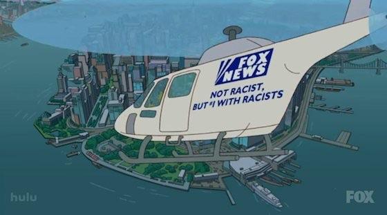"""Fox News: """"Nao é racista. Mas com racistas"""""""