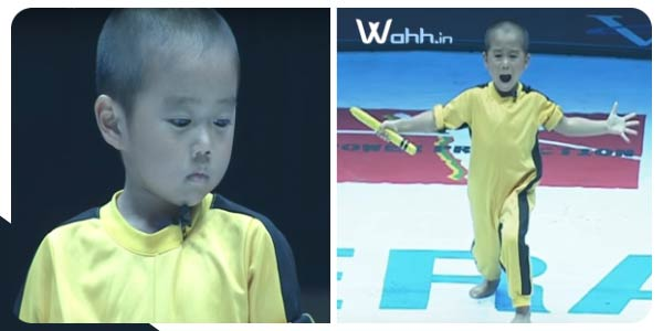 Ryusei-(5year old)-performed-Bruce-Lee's-style