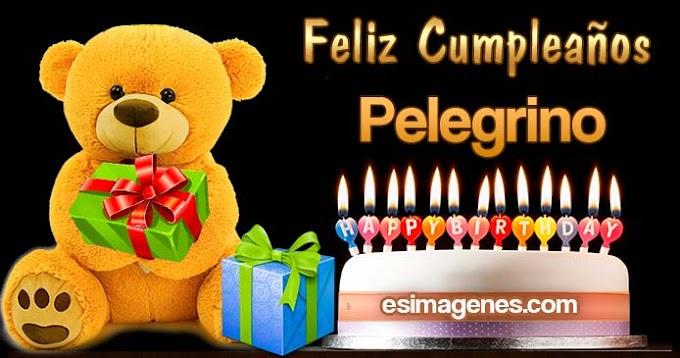Feliz Cumpleaños Pelegrino