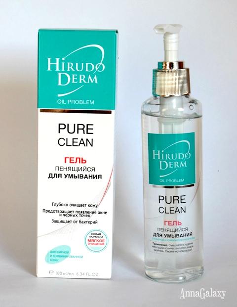 Отзыв Гель пенящийся для умывания Hirudo Derm PURE CLEAN