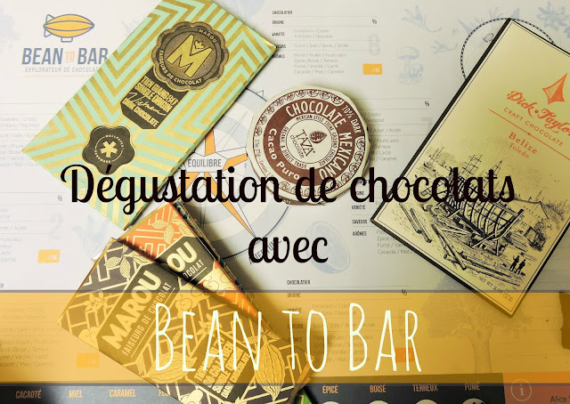 Atelier de dégustation de tablettes de chocolat bean to bar avec Alice Voisin