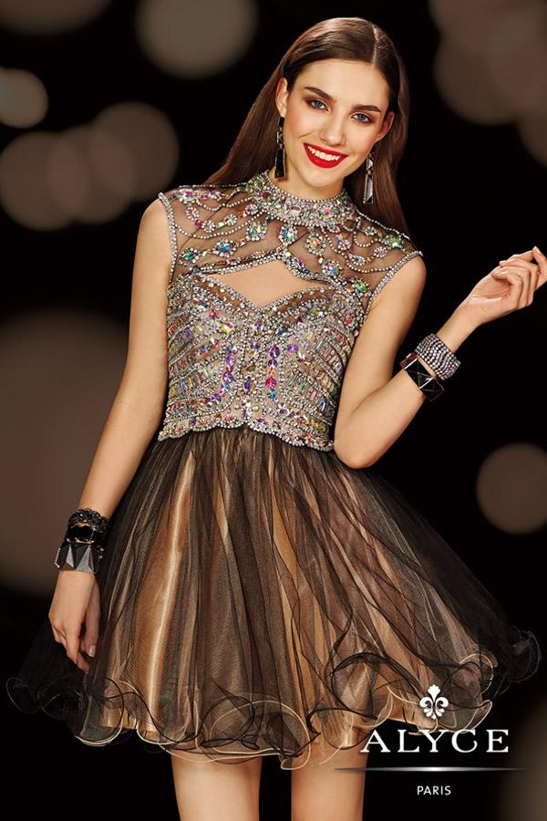 Imagenes de vestidos cortos para fiesta de 15