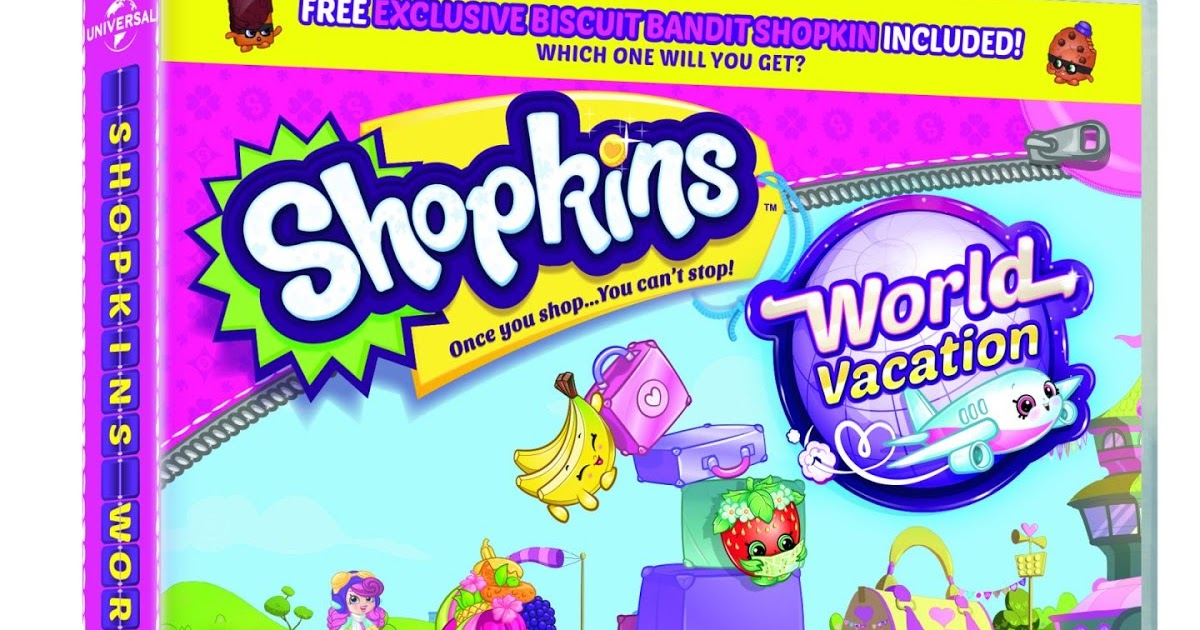 Shopkins World Vacation Premiere