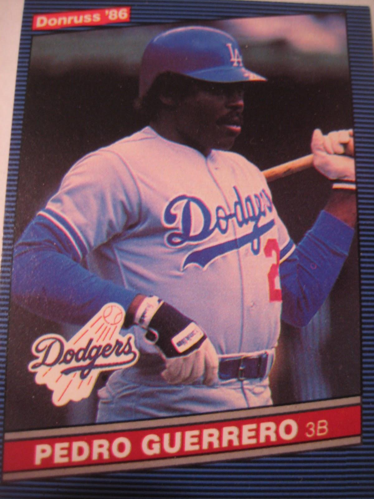 Baseball Cards Come To Life Pedro Guerrero On Baseball Cards