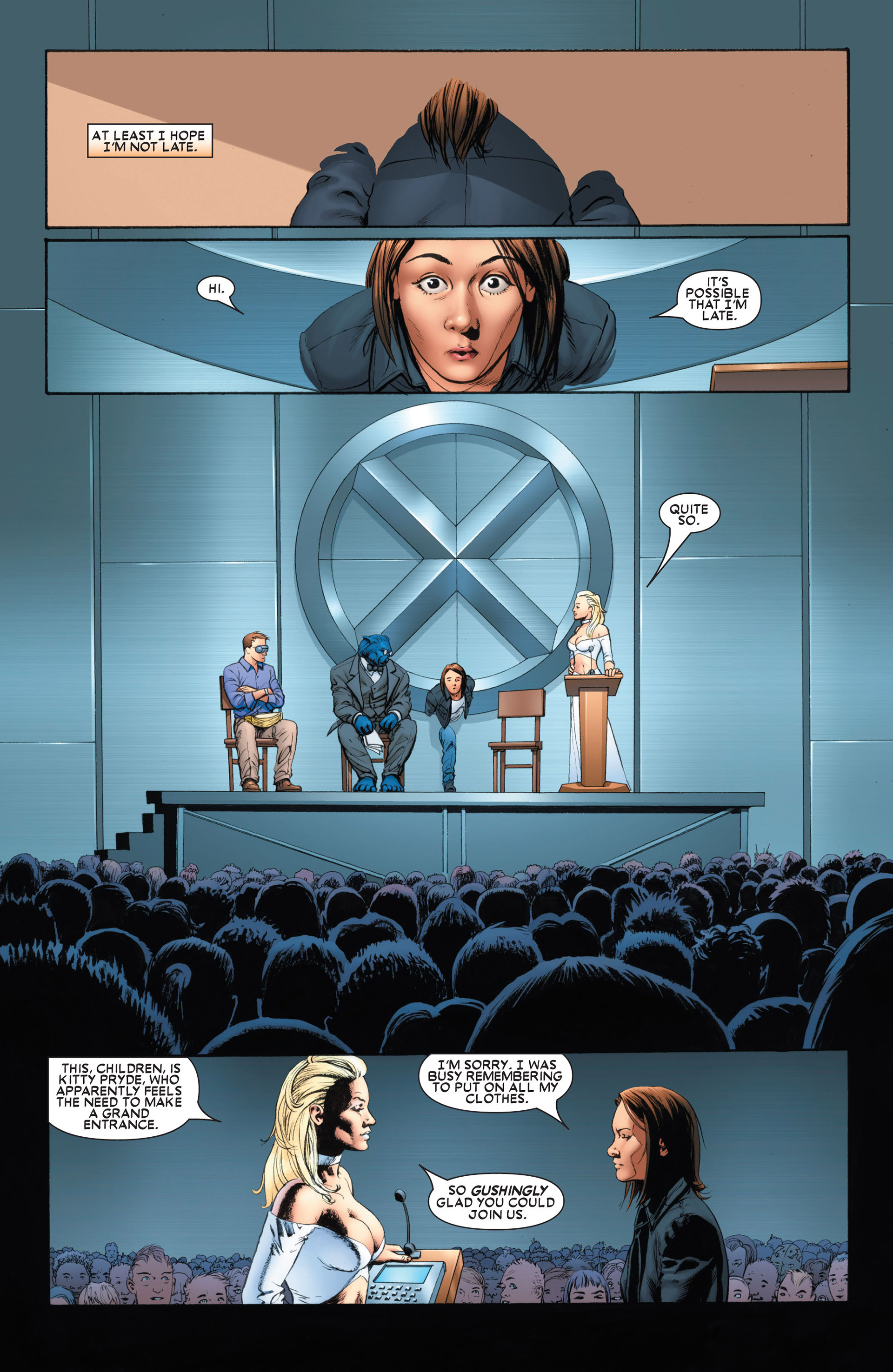 Astonishing X-Men (2004) issue 1 - Page 7
