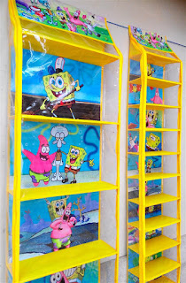 Rak Tas Rak Sepatu Spongebob