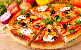 Delicious Pizza HD wallpaper for Wide