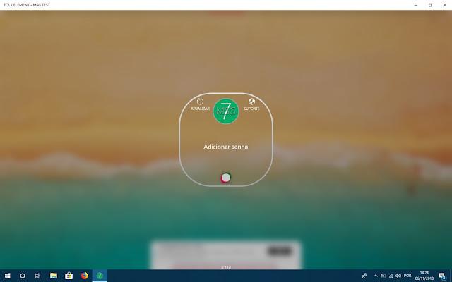 صورة برنامج القفل بكلمة مرور لويندوز 10
