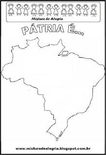 Projeto Pátria, mapa do Brasil