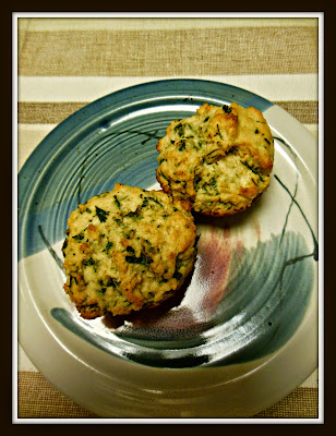 Sourdough Parsley and Parmesan Cheese Muffins, another easy self rising flour recipe.