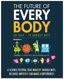 Source: Singapore Science Centre. Poster for SSF 2017.